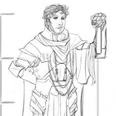 A wee didus! #myart #d&d #dungeonsanddragons #npc #paladin #armor #customarmor #characterdesign