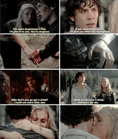 parallels<<<and still he didn't get the girl.-- Love The 100!