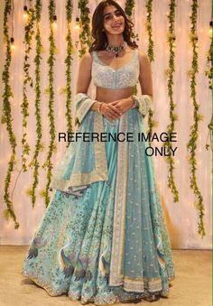 Vyoma Lehenga - Woman - Shop WhatsApp us for Purchase & Inquiry : Buy Best Designer Collection from Indian Bridal Outfits, Indian Fashion Dresses, Dress Indian Style, Indian Designer Outfits, Designer Dresses, Dress Fashion, Girl Fashion, Indian Lehenga, Indian Gowns