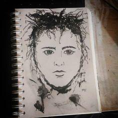 Quick Sketch, Traditional Art, Illustrations, Etsy Shop, Ink, Art Prints, Drawings, Instagram, Design