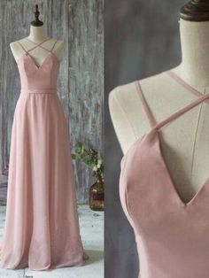 Sexy Prom Dresses Spaghetti Straps A-line Long Prom Dress/Evening Dress JKL123