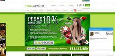 Main Judi Di Web TeknoPoker.com Dapat Bonus Deposit 10% Looh,  Apakah kamu tidak tertarik ingin mendaftar di situs ini ? Dapat hadiah tambahan 10% juga loh
