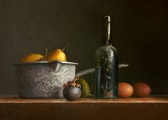 Still life with bear bottle by josvanr on deviantART Painting Still Life, Still Life Art, Hyper Realistic Paintings, Fruit Painting, Still Life Photos, Hyperrealism, Still Life Photography, Artist At Work, Be Still
