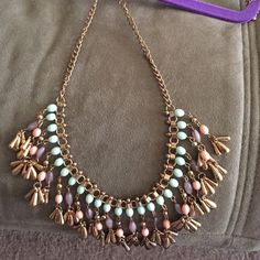 Statement necklace Dangle statement necklace. Jewelry Necklaces