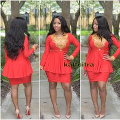 Callista Tunic Dress ~African fashion, Ankara, kitenge, African women dresses, African prints, Braids, Nigerian wedding, Ghanaian fashion, African wedding ~DKK