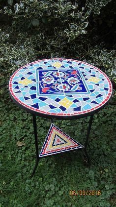 """Mosaik Tisch """"Istanbul"""" by Mosaikart on Etsy"""
