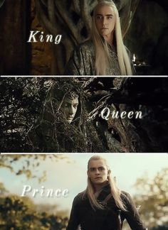 King, Queen & Prince of the Woodland Realm