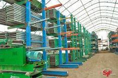 Buyers Guide to Cantilever Racks & Lumber Storage Racking - Cantilever racks (also referred to as lumber racks) are cantilevered-style storage shelving that is specifically designed for storing long and bulky materials such as lumber, plywood, PVC and metal or bar stock pipes. For this reason, cantilever storage racks are many warehouse professionals top storage solution for storing items such as furniture, boats, steel bar stock, pvc pipe <more>