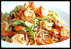 2- Black Garlic Stir Fry Shrimp