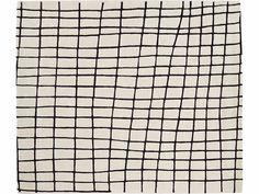 Прямоугольная шерсть ковер с геометрическими формами квадрика По ROSET ITALIA дизайн Рене Барба