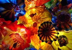 Dale Chihuly's glass works are truly amazing!  Love his work at the Children's Museum.