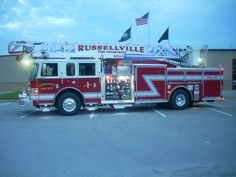 Russellville Fire Department (KY) 2012 Pierce 75' Ladder truck obtained in April of 2012