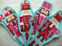 2 Christmas Nutcracker Fabric Iron On Appliques on Etsy, $3.00