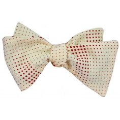 Bandari Bata Dot bow tie- 100 % Vintage Japanese Silk. Silk Bow Ties, Bow Tie Wedding, Vintage Japanese, Pocket Square, Dots, Pattern, Handmade, Tumblr, Fashion