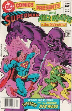 DC Comics Presents Vol. 6 No. 55  1983  Superman and Air Wave vs. the Parasite! by TheSamAntics