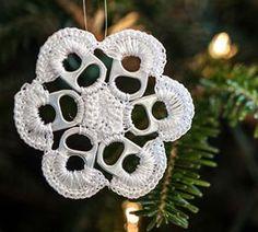 Post image for Crochet Pop Top Christmas Ornament Video Tutorial
