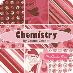 Chemistry Jelly Roll ~ would love to make a quilt out of this!