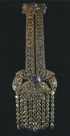 Imperial Russia diamond something or another, how sparkly!