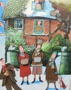 Wassailing - Stephanie Lambourne - Southwold Gallery