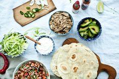 Telecí na tacos - sous vide i tradičně