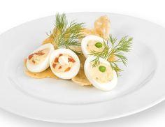 F r den eiersalat die eier hart kochen sch len und in - Eier hart kochen ohne anstechen ...