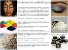 Eye pigments