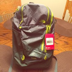 """North Face Backpack - Pinyon (one size) SALE!!! Light weight very durable backpack. New with tags and never used. Fits 15"""" screen laptop. Great backpack for hiking. The North Face Bags Backpacks"""