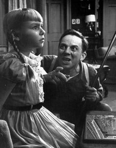 """Leroy Jessup (Henry Jones) to Rhoda Penmark (Patty McCormack): """"I thought I'd seen some mean little gals in my time, but you're the meanest. You wanna know how I know how mean you are? 'Cause I'm mean. I'm smart and I'm mean, and you're smart and you're mean. And you never get caught and I never get caught."""" -- from The Bad Seed (1956) directed by Mervyn LeRoy"""