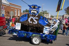Participate in the C-SC Homecoming parade and/or help build a float!