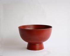 Akito Akagi wood bowl. nice shape for a ceramic bowl.