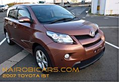 Best prices on new and used cars in Kenya @ www.nairobicars.com Toyota IST 2007 http://www.nairobicars.com/views/Toyota_IST_Hatchback_2007-346/