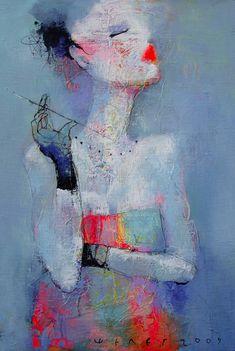 Viktor Sheleg, rusian artist, b.1962