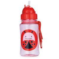 Skip Hop Ladybug Zoo Straw Bottle 350ml #mamadoo #bottle #water