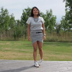 Summer grey outfit