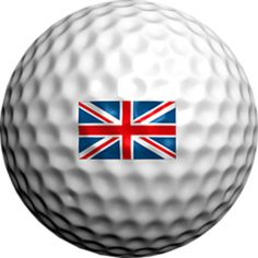 Logo Golf Ball Union Jack by Adamo Golf on Opensky