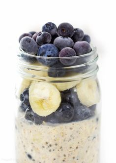 Overnight Oats in a mason jar is still one of my favorite go-to breakfasts. Totally healthy and protein packed without using yogurt!
