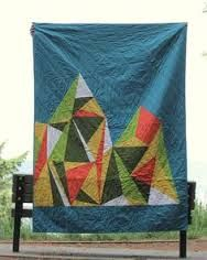 Image result for snowy mountain quilt