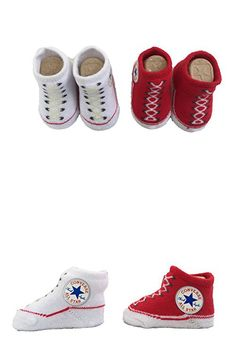 4456add4328 Converse Baby Booties Set for Infant Boys and Girls (0-6 Months)