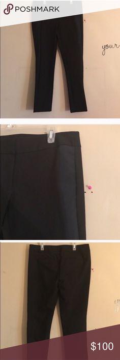 NWT size 6 P Ann Taylor black ankle pants NWT size 6 P Ann Taylor black pants Ann Taylor Pants Ankle & Cropped