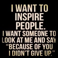 I have people who tell me that and it feels so good to hear that they know what I did and what i learn, as I learn from them.