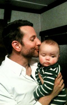 1000+ images about Celebrities with Kids on Pinterest ... Bradley Cooper Baby