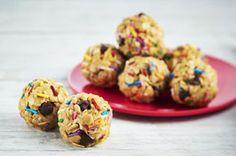 Peanut Butter Snack Bites with Sprinkles #MyKPBsnackbite - Frugal Mom Eh!