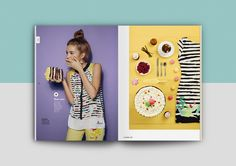 Spring Summer catalogue for Desigual.