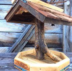 bauplan f r ein vogelfutterhaus free bird feeder plan vogelhaus futterhaus pinterest. Black Bedroom Furniture Sets. Home Design Ideas
