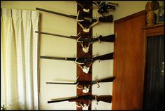 Possible gun rack - need to do more huntin for this one