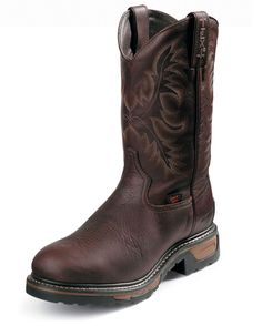 Tony Lama Men's Briar Pitstop Waterproof Steel Toe Boot...for Chad