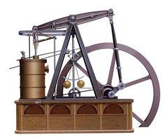 Maquina vapor Watt