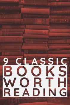 Reading the classics can be tough, there's no doubt about that. I posted earlier this year about how to read more classic books, but if you're struggling to figure out where to start, here's a list of nine classic books worth reading. How To Read More, What To Read, I Love Books, Good Books, Books To Read, Reading Lists, Book Lists, Feminist Books, The Age Of Innocence