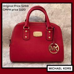 c94e86454cfb Clothes Mentor · Michael Kors · Add a pop of color to your spring  wardrobe!! This Michael Kors handbag (