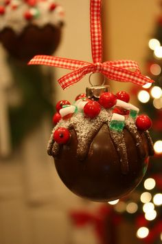 Sweet Something Designs: Chocolate Candy Ornament